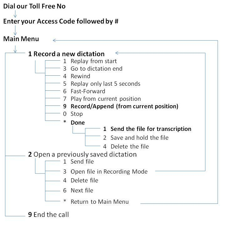 Dictation Recording Guide